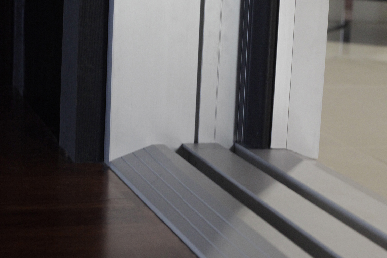 Folding Door Features Ada Compliant Ramp Sill Retrofit