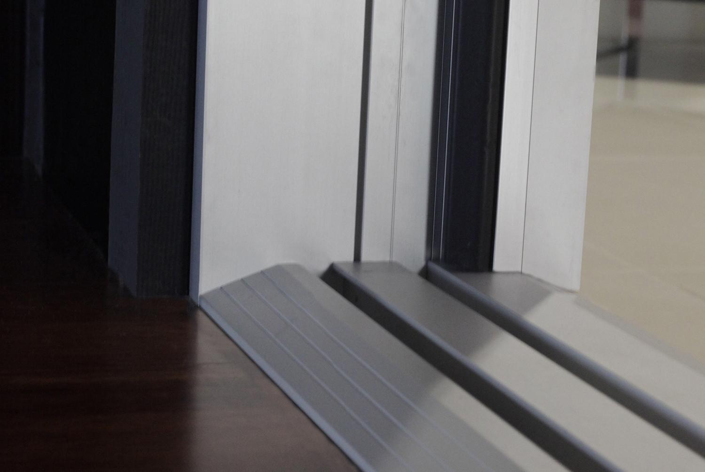 Folding Door Features Ada Compliant Ramp Sill Retrofit