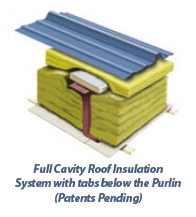 Full Cavity Standing Seam Roof Insulation System Retrofit