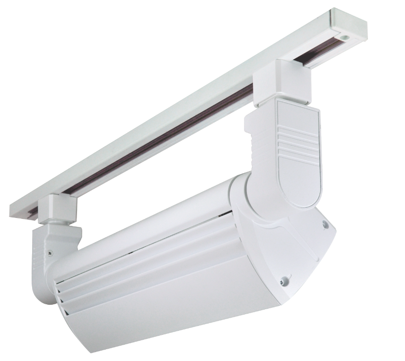 Led Light Fixtures Commercial: LED Track Lighting Washes Retail And Commercial Wall