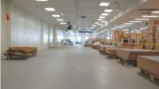 ResinDek engineered wood panel for retrofit of mezzanine flooring