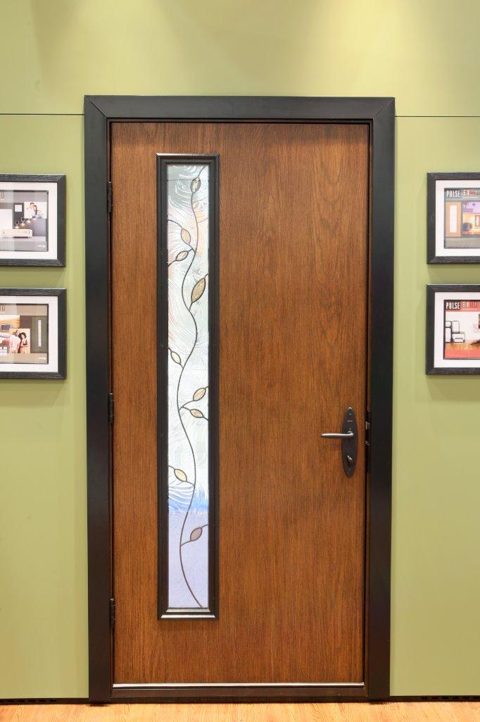 Therma-Tru Pulse modern-style doors - retrofit