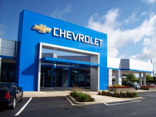 General Motors Dealerships Utilize Aluminum Composite