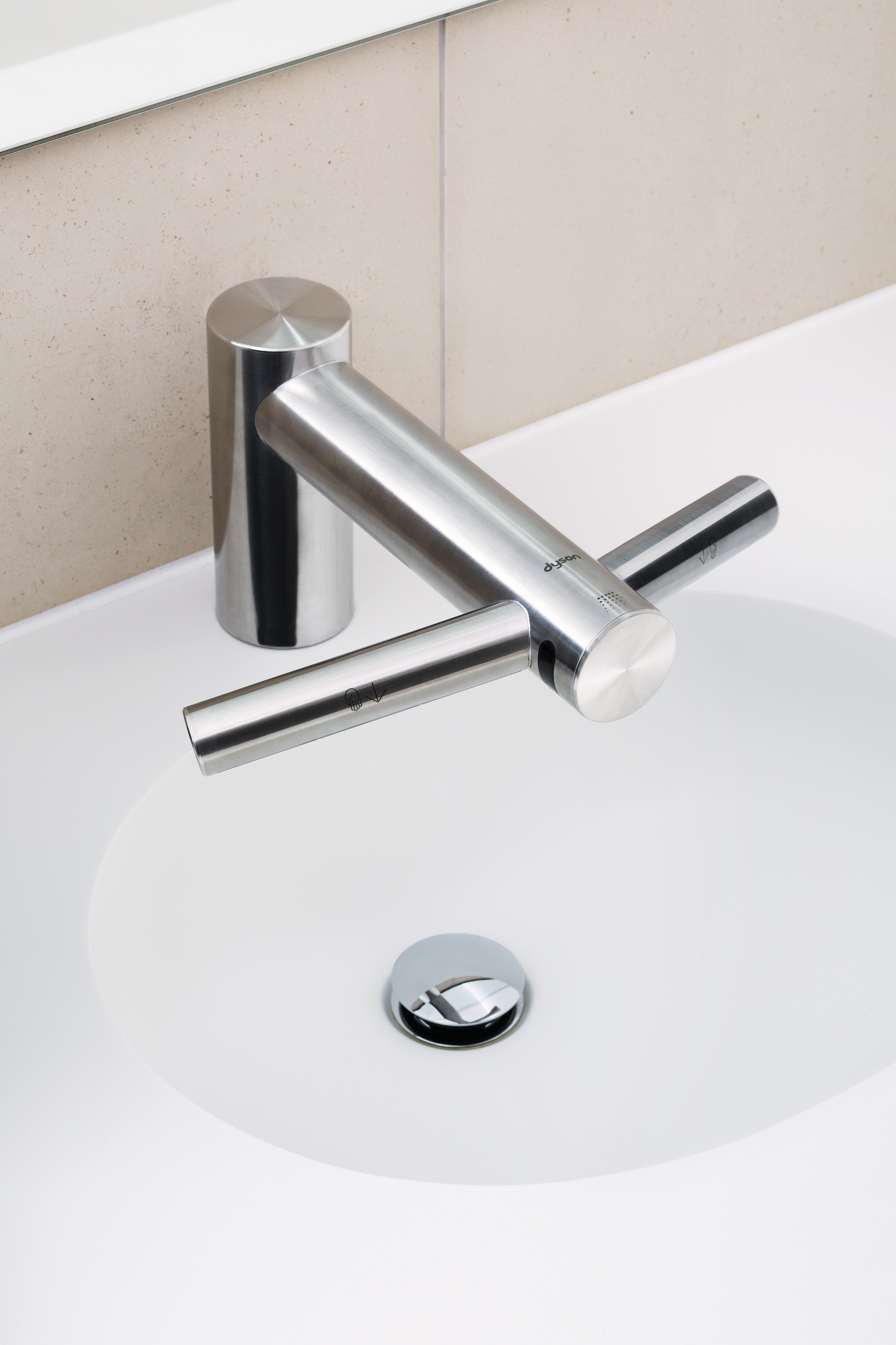 Faucet and Hand Dryer in One - retrofit