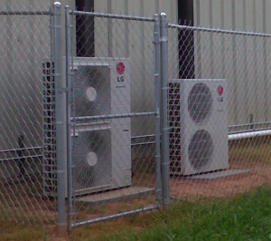 An LG Flex Multi-Quad Zones system was used to retrofit the cooling system for a Georgia school's gym.