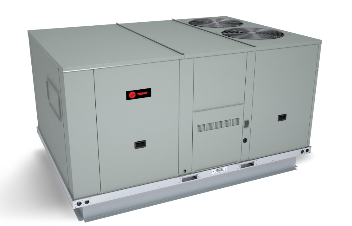 Light Commercial Rooftop Units Feature A Dual Footprint
