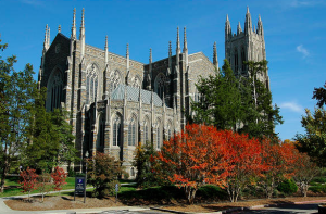 As part of the facilities management structural reorganization, Duke Chapel on Duke University's campus in Durham, N.C., receives more service than a parking lot.