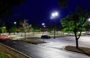 The lots comprise 700 parking spaces and 100 fixtures on average.