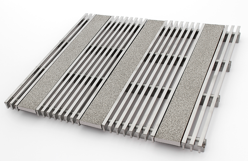 Anti Slip Grating With Double Coefficient Of Friction
