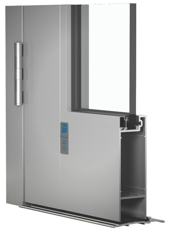 Door line now includes 5 inch wide stile option retrofit for 12 wide door