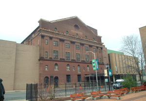 The historic Lyric Opera House was constructed in 1895 as a concert hall.