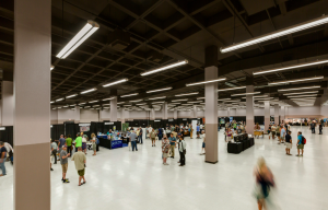 The winning combination of quality lighting with the flexibility of controls allowed the Convention Center staff to improve already-popular spaces.
