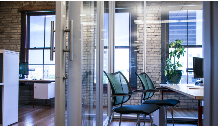 Prefabricated Components Create Office Space In A Historic