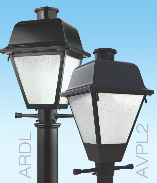Www American Electric Lighting: Post-top Luminaires Upgraded To LED Versions