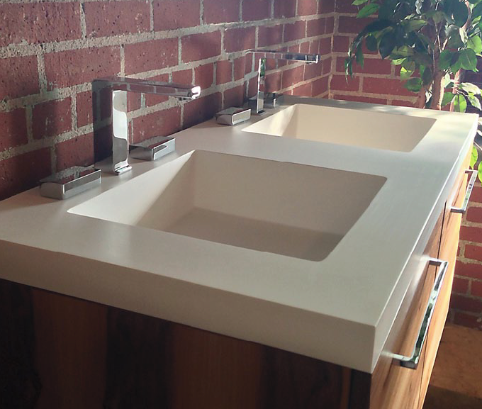 Order Fully Customizable Vanity Units With Integrated Sinks