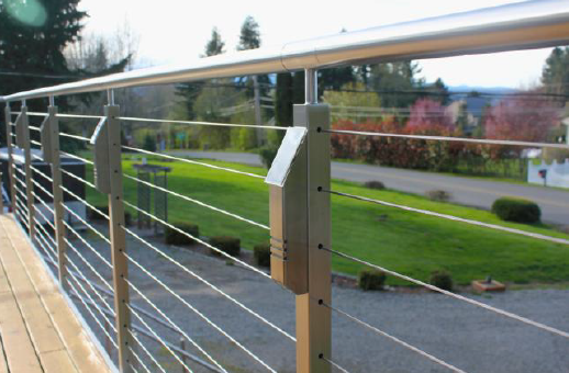 Solar Powered Led Accent Lights Designed For Cable Railing