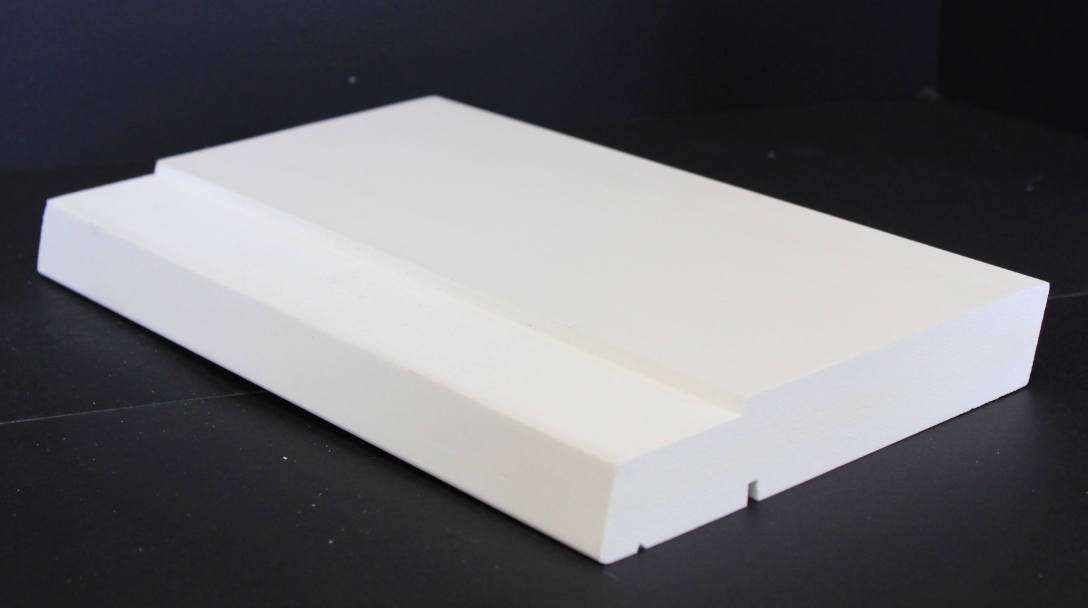 Pvc sill moulding suitable for replacing wooden double for Window sill replacement