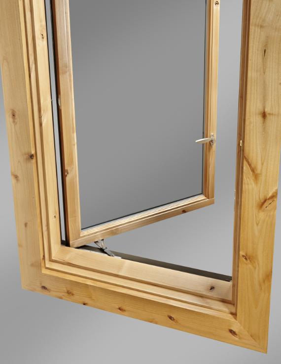 Push Out Casement Window Offers Wide Open Views Retrofit