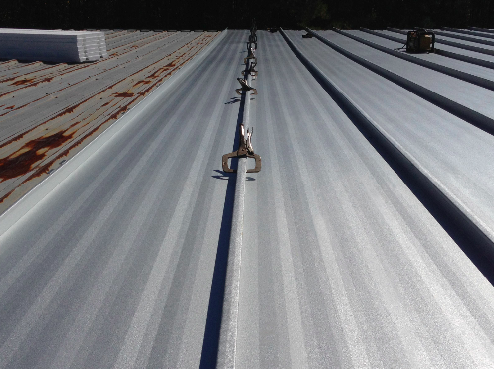 Mcelroy Metal Reroofs Manufacturing Facility With Solar