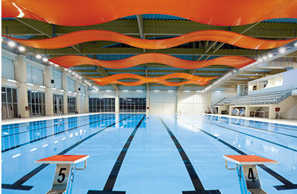 Metal Ceiling Can Be Used In Indoor Pool Applications