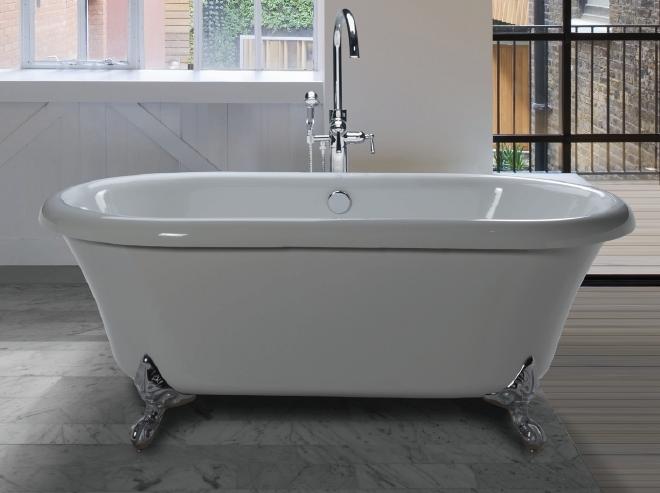 Clawfoot Tub Can Be Customized - retrofit