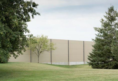 Sound Barrier Protects Facility Privacy - retrofit
