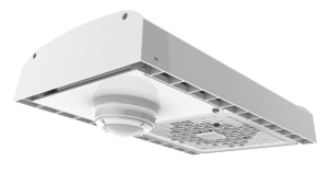 The QHC fixture with 60 LED chips provides 12,483 lumens over 94 lumens per watt.