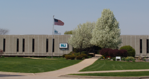 BEFORE: The headquarters building of RLI, a publicly held specialty insurance company in Peoria, Ill., had become dated and needed extensive interior and exterior repairs.
