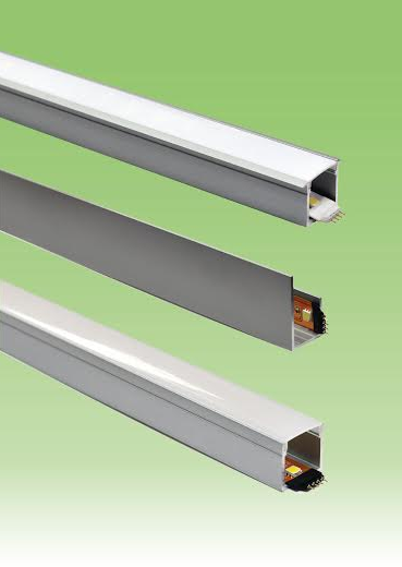 Led Tape Light Channels Can Be Recessed Or Surface Mounted