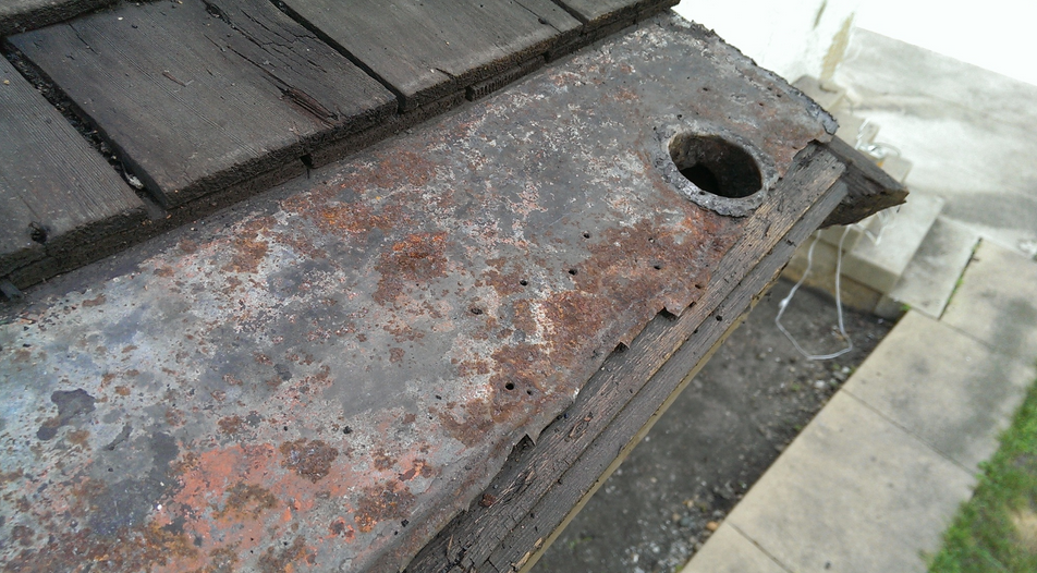 Built In Gutters Should Be Carefully Inspected Restored