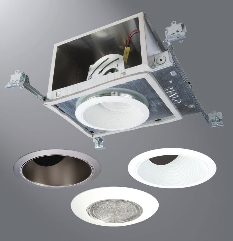 Led Recessed Lighting For Vaulted Ceiling : Led recessed downlight system is designed for sloped