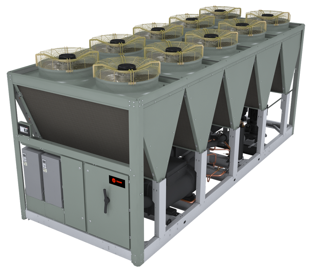 Air-cooled Chiller Offers Low Sound Output And Refrigerant