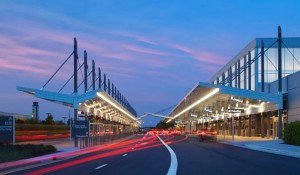 The renovated Terminal 1 received LEED certification from the U.S. Green Building Council, Washington, D.C. Sustainability was a factor in Raleigh-Durham International Airport's decision to renovate the existing terminal.
