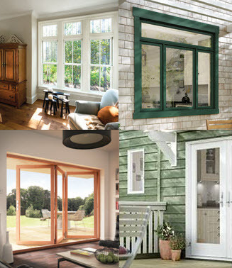 Wood and clad wood windows and patio doors offer improved for Jeld wen casement window prices