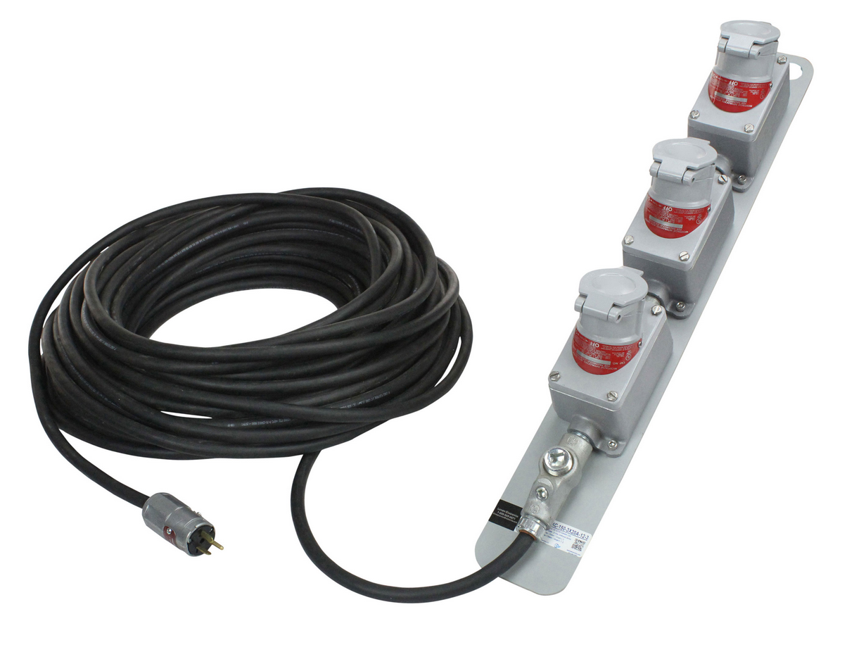 Electronic Extension Cords : Heavy duty extension cord provides secure connection of
