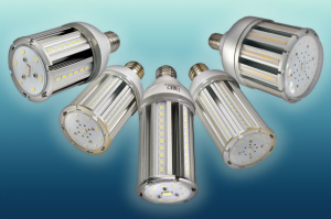 LEDtronics Inc. introduces its series of UL-listed, omni-directional LED corn bulbs.