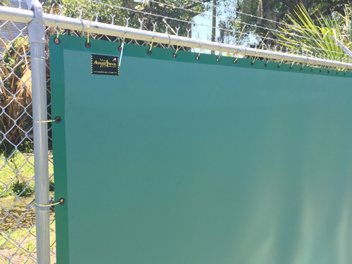 Sound Barrier Can Be Attached To Most Types Of Fencing