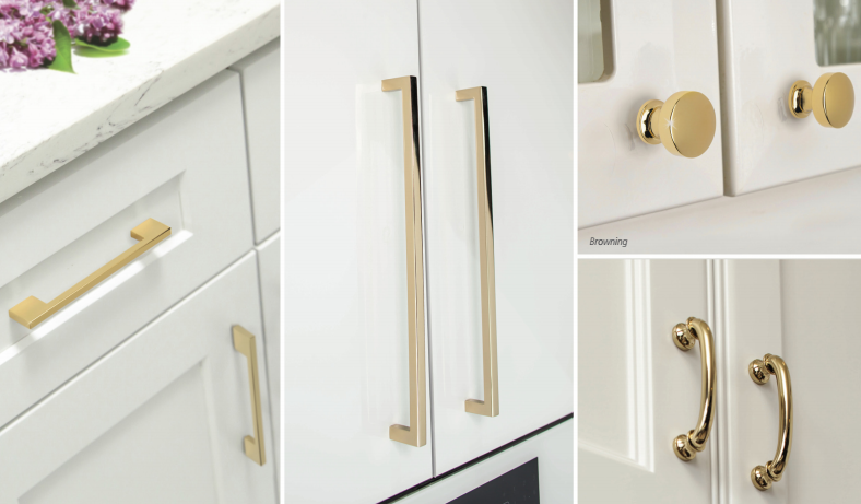 Delicieux Knobs And Pulls Are Available In A French Gold Finish