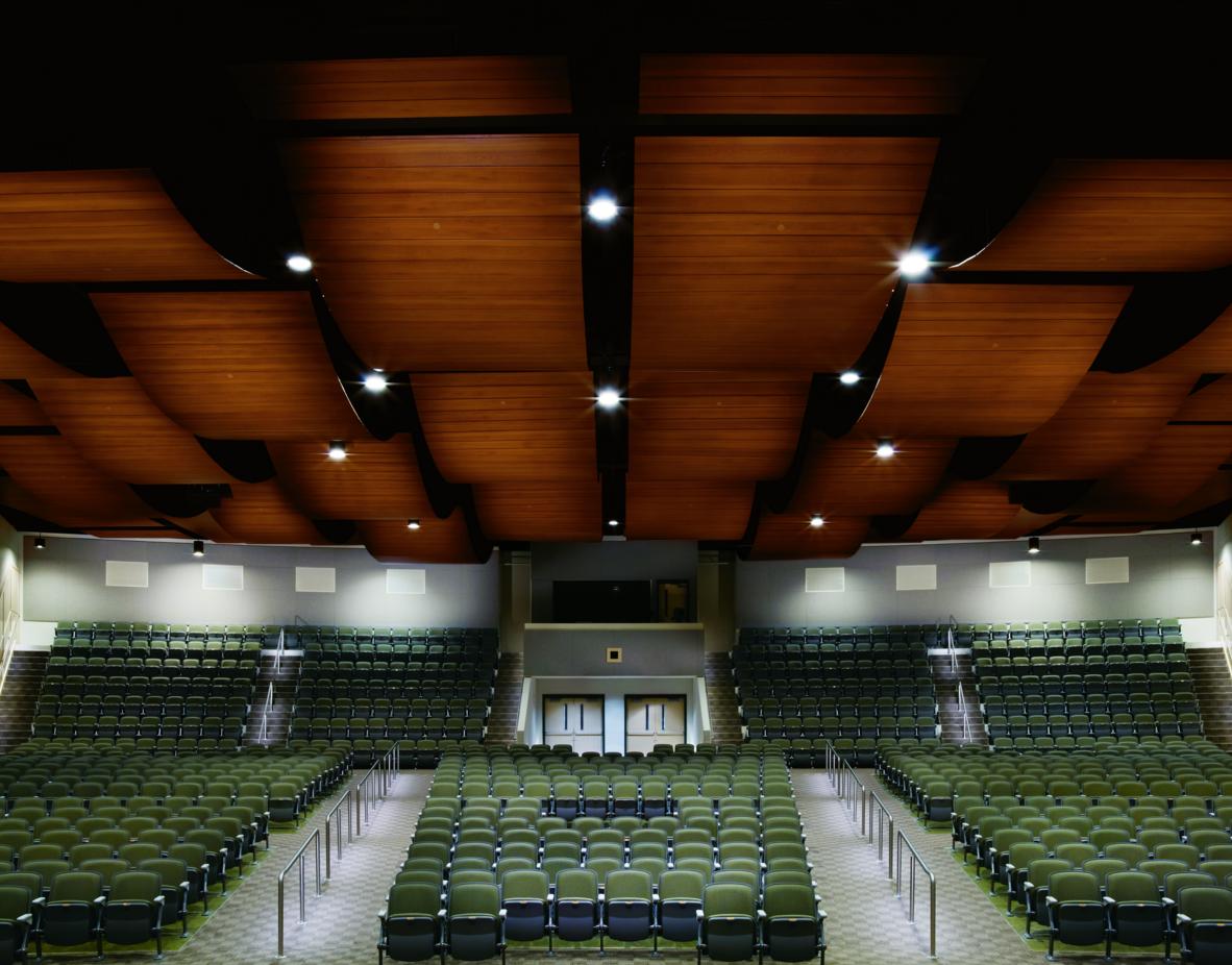 Metal Wall And Ceiling Panels Look Like Wood Retrofit