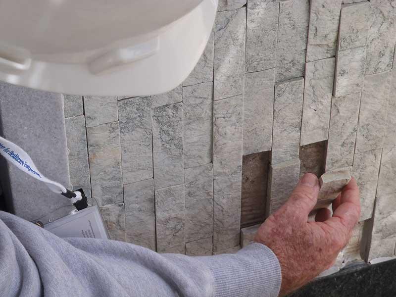 Quartz Tile Restores Bank S Fa 231 Ade Retrofit