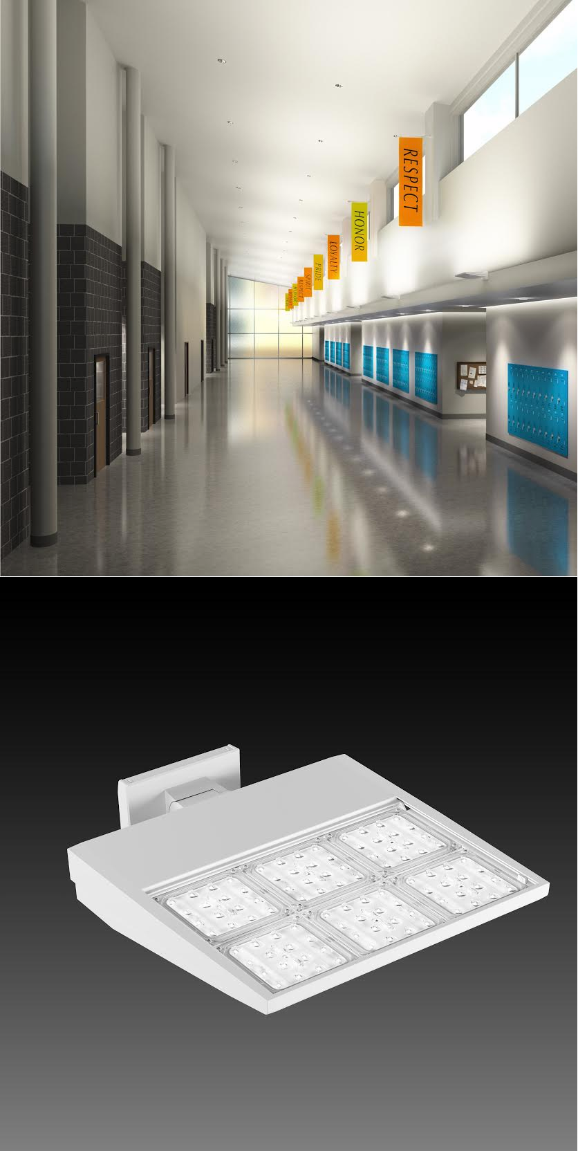 LED Luminaires Allow for Beam Control and Efficiency in High-ceiling Applications - retrofit & LED Luminaires Allow for Beam Control and Efficiency in High ... azcodes.com