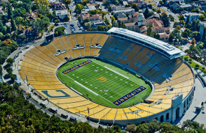 California Memorial Stadium's owners intended to preserve the structure's historic facade while performing a complete seismic retrofit to its interior, in anticipation of potential movement from the Hayward fault on which it is built.