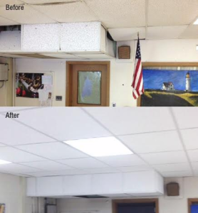 Middle School Wins Armstrongs Ugly Ceiling Contest Retrofit