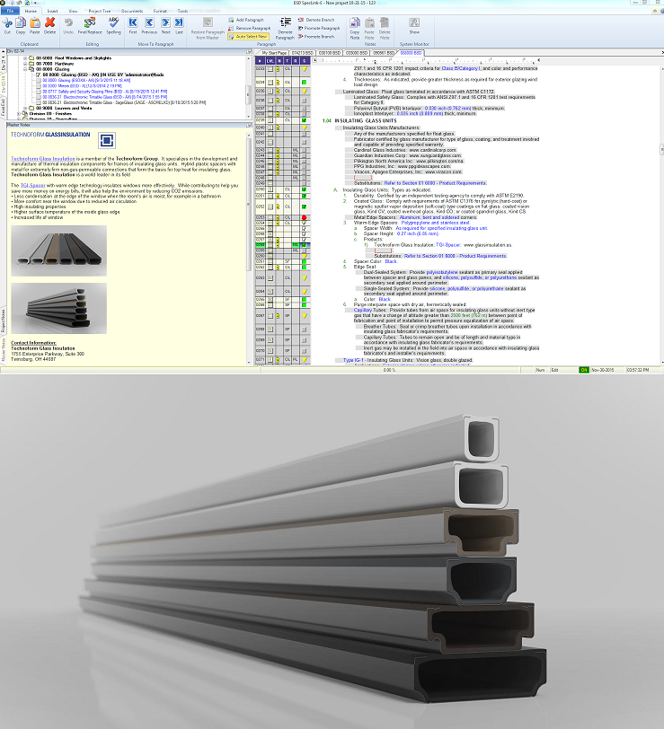 Technoform Glass Insulation S Warm Edge Spacer Technology