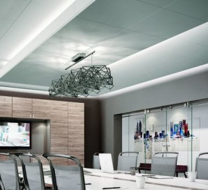 Light Coves Integrate With Ceiling Suspension Systems