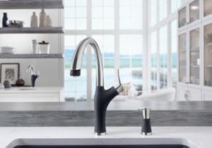 BLANCO, a German manufacturer of finely made sinks and faucets, launches BLANCO ARTONA, a kitchen faucet offering dual finishes in coordination with SILGRANIT sink colors.