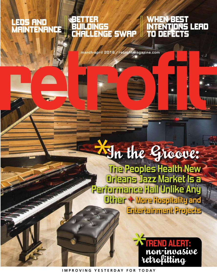 Cover of Jan/Feb issue of Retrofit Magazine