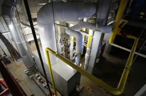 The project team also replaced existing pneumatic building controls for the new HVAC system in the labor in delivery area and the boilers, which serve the entire facility.