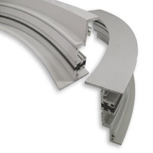 Linetec provides thermal improvement services for curved and radius, finished aluminum extrusions backed with a full warranty.
