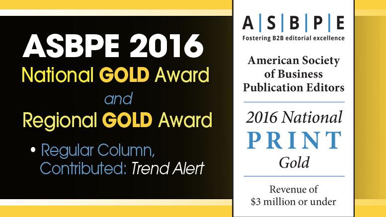 ASBPE Azbee WINNER 2016